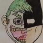 Joker and Batman face by JimboMation