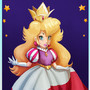 Royal dress Princess Peach by Evanatt