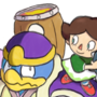 Dedede and Villager by TKOWL