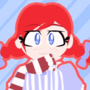 Smug Wendy (Animated Loop) by PenguinPotential