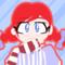 Smug Wendy (Animated Loop)