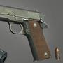 Colt M1911 by LeFrenchBaguette