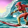 Specter of Torment - Surf's Up dude by GrahamDrawsButts