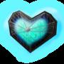 encased heart by Harukoemiko