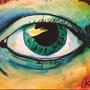 Sketchbox June - Watercolor eye
