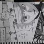 Rick & Morty's Bizarre Adventure Manga/anime style by ElGero