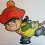 Kid gohan by Haferks