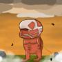 chibi collosal titan