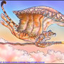 Flying Tiger god by BlackUniGryphon