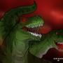 T-Rexs by RickMarin