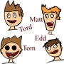 Eddsworld MainCharacters By Me by Andrew-C-S