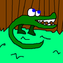 Ethan the Alligator by Chaoslithium