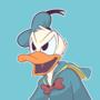 Donald Duck by SlapHappyDrew