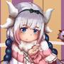 Kanna-Kamui The Dragon Maid Loli by DrawingWithArthuz