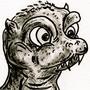 Baby Godzilla by ItsMacklin