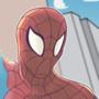 Spider-man by SlapHappyDrew