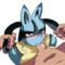 Lucario Forced Blowjob