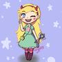 Chibi Star Butterfly by ChibiAshley