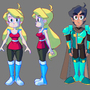 Chroma Black - Main Characters by ArtistGamerGal