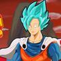 Saigoku (saitama Goku fusion) by fiepaper