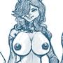 Nicole kitty boobies by HOLIMOUNT2