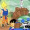 Dragon Ball Z x Looney Tunes
