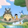 Steven Universe/Totoro Style Swap by Jellymoon