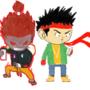 Akuma x Ryu YSN by Micah-Myers