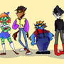 High School Creatures by GeekAgainstHumanity