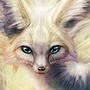 White peafox