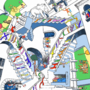 DWJ Style Swap- Dr Seuss/Relativity by TimeUnfolds