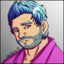 Josh, The Hipster Guy by AniLover16