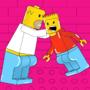 Simpson scene lego style by ruchunteur