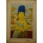 Marge Simpson X Mona Lisa