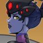 Widowmaker- Overwatch by Shadowblackfox