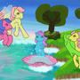 Birth of Seapony by Mogglepoggle