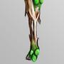 Generic Zombie Leg by stahlbeton