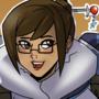Mei- Overwatch by Shadowblackfox