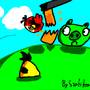 Angry Birds by Santitoon