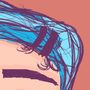 Blue Hair Green Shirt by Greebs
