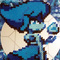 Lapis Lazuli Perler Bead Project (Steven Universe)