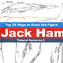 Top 20 ways to draw the figure Chapter 4 (Jack Hamm) Method by rainwalker007