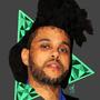 The Weeknd Poly Art by AKwidzinski