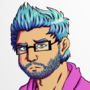 Josh, The Hipster Guy - Full Body Version by AniLover16