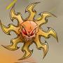 Celestia the Flaming Sun Goddess