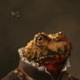 Frog Portrait by YorieOfTheCastle