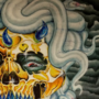 Dark Xenokrates painting by grillhou5e