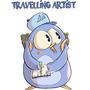 Travelling Artist by ArnabD