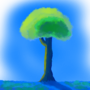 Anime style tree by Smartass1432