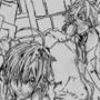 Original Sketch of Bakuman by FallOutFox